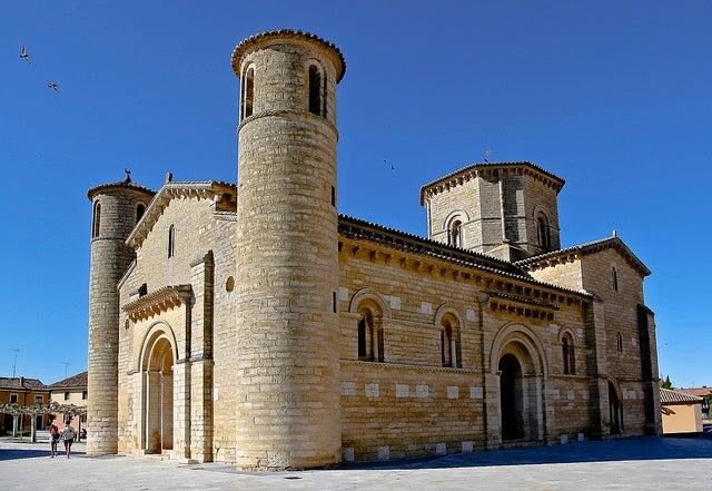 Iglesia románica de San Martín de Tours en Frómista