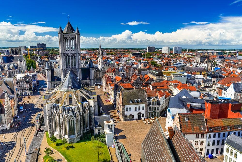 Iglesia de San Nicolás en Gante