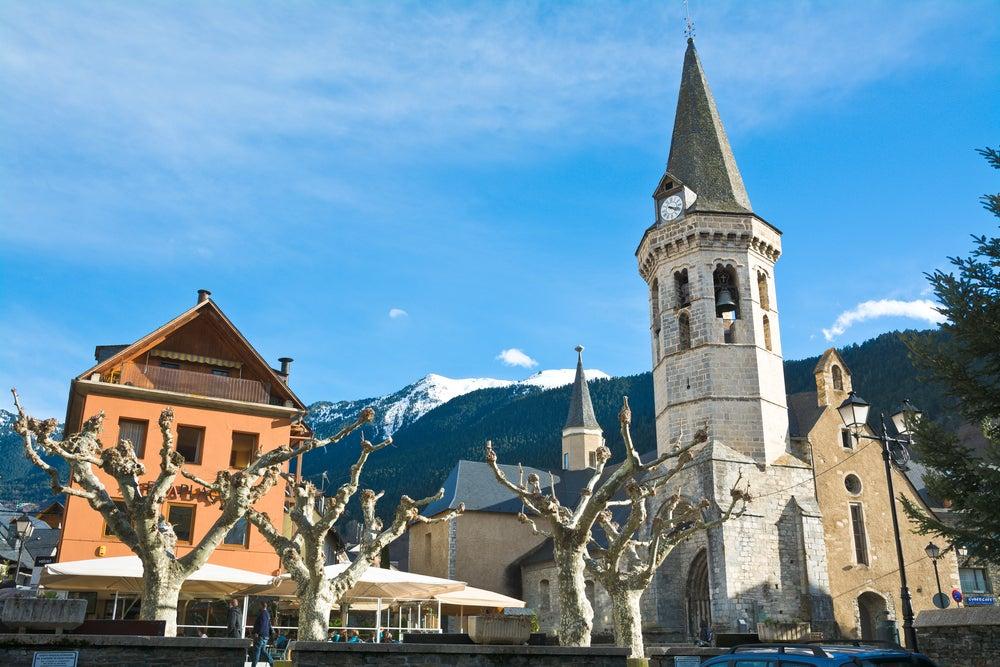 Iglesia de Sant Miquèu en Vielha, valle de Arán