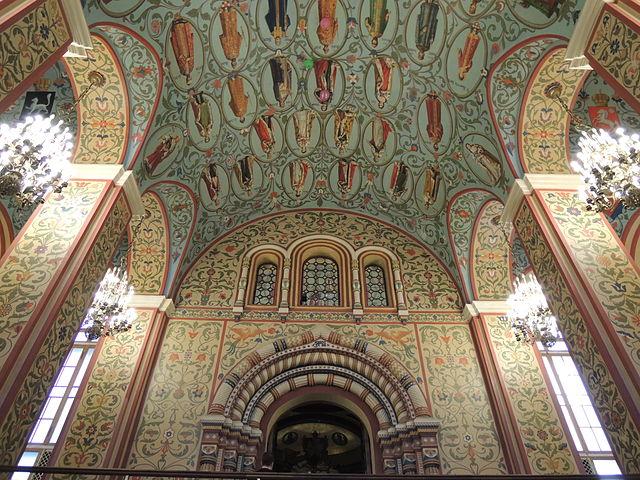 Frescos en el Museo Estatal de Historia de Rusia