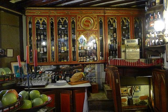 Interior del restaurante Sobrino de Botín