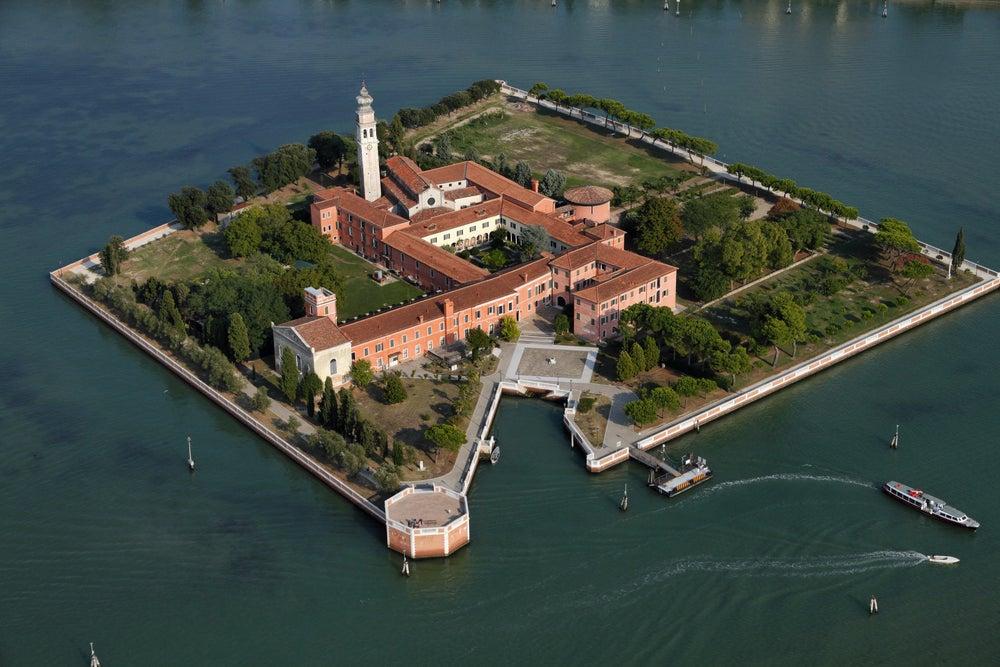 Isla de San Lázaro en Venecia