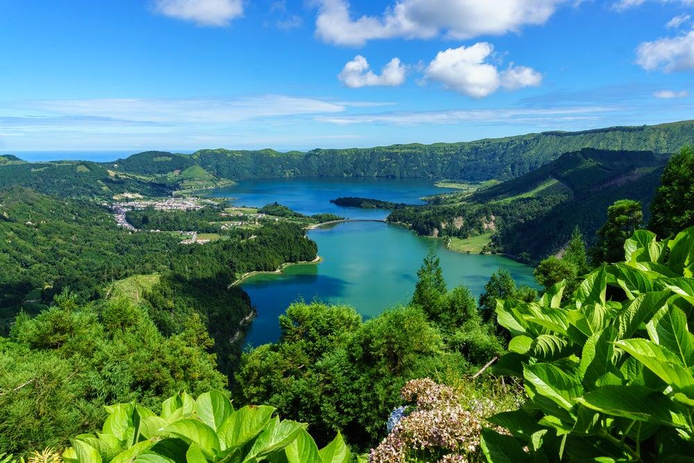 Isla de San Miguel en Portugal