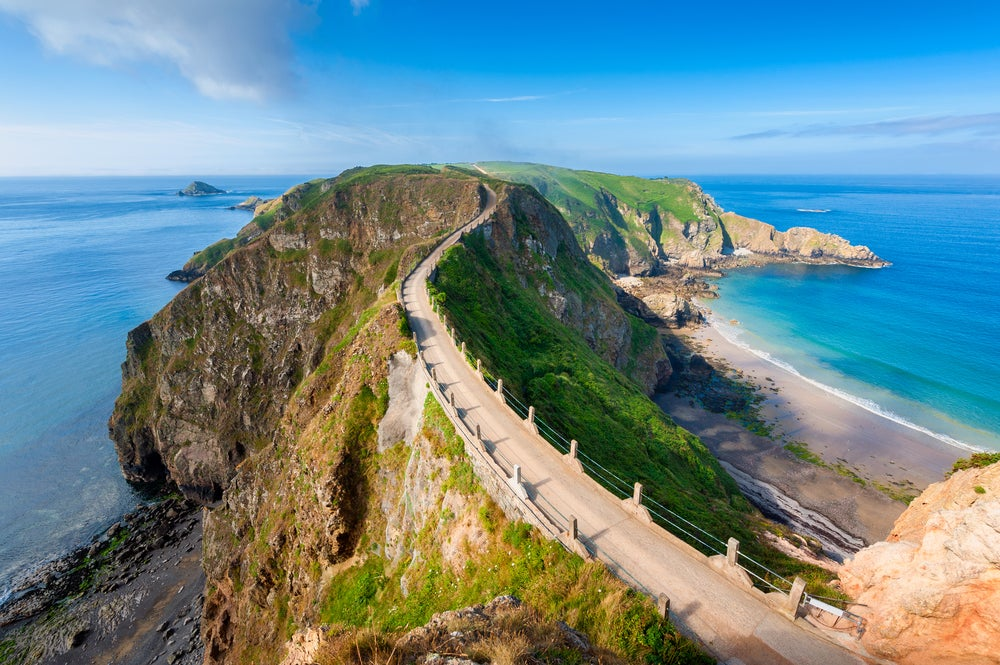 Isla de Sark en Inglaterra