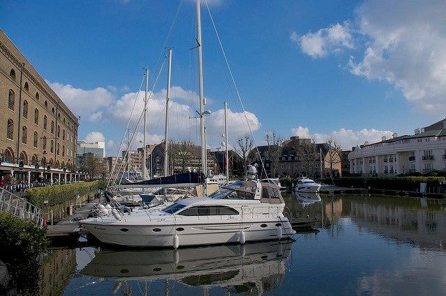 St Katherine Docks en Londres
