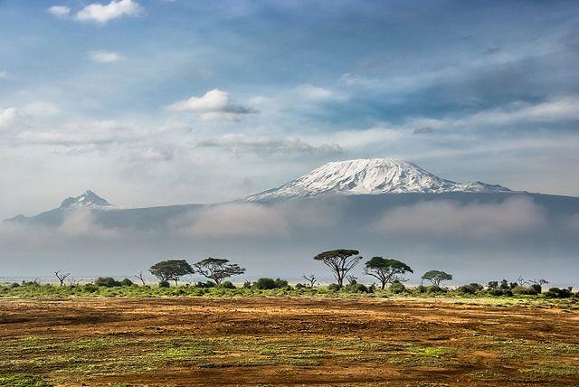 Kilimanjaro, uno de lso paisajes de África más conocidos