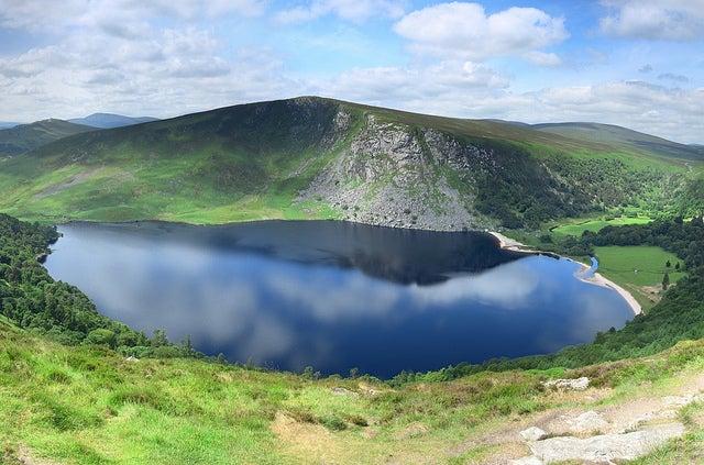 Lago Tay en Irlanda