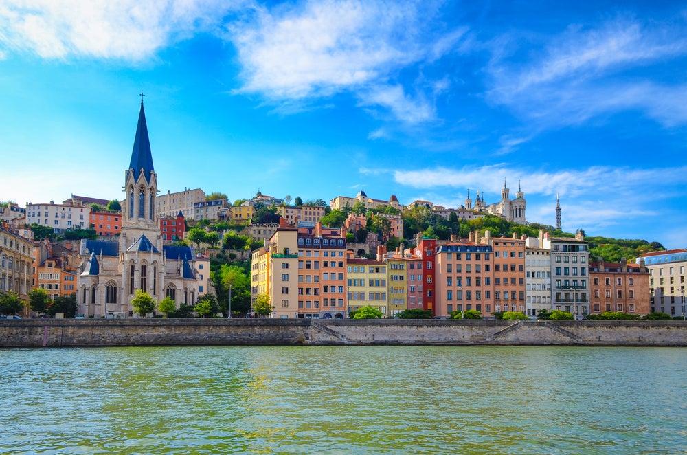 Vista de Lyon