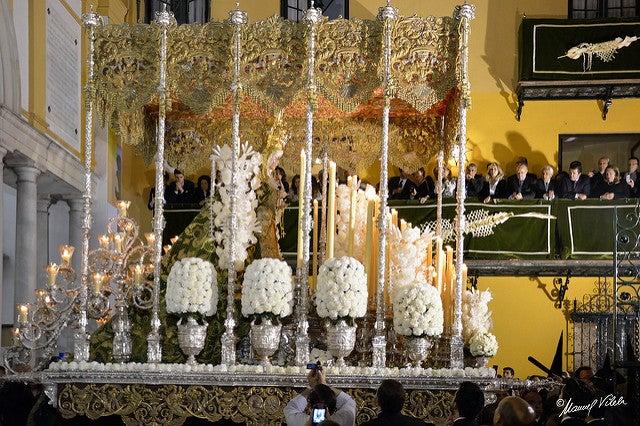 Procesión de la Macarena en Sevilla