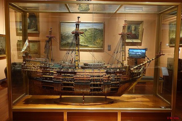 MAquete en el Museo Naval de Madrid