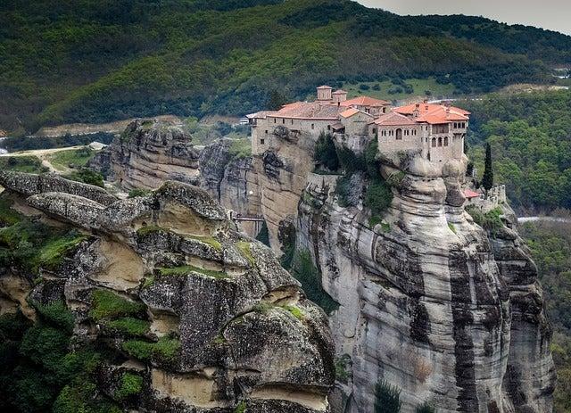 Meteora, uno de los lugares que ver en Grecia