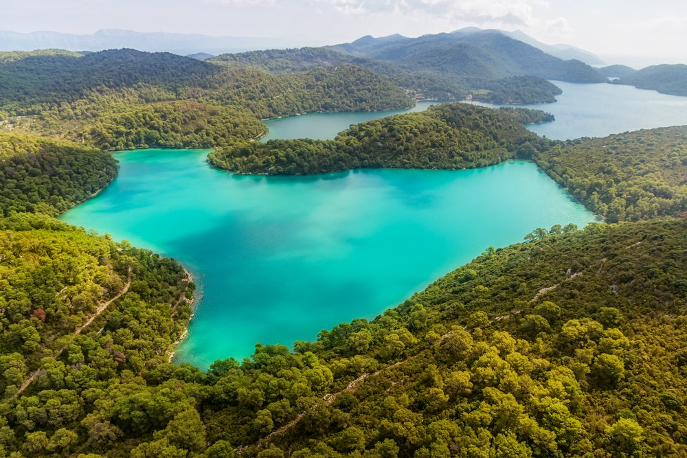 Mljet en Croacia
