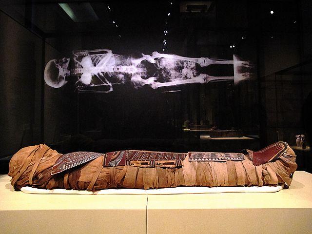 Momia en el Museo Arqueológico Nacional