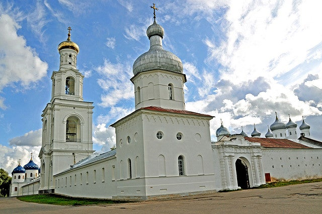 El monasterio de Yuriev, el más antiguo de Rusia