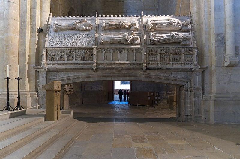 Sepulcros Reales en el Monasterio de Poblet