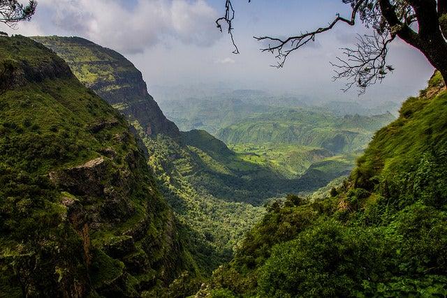 Montañas Simien en Etiopía