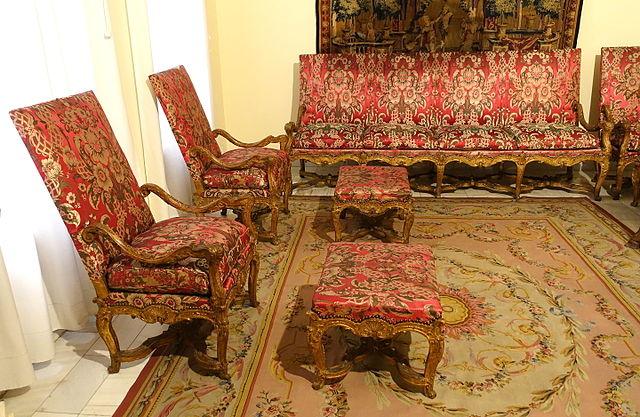 Muebles en el Museo Nacional de Artes decorativas de Madrid