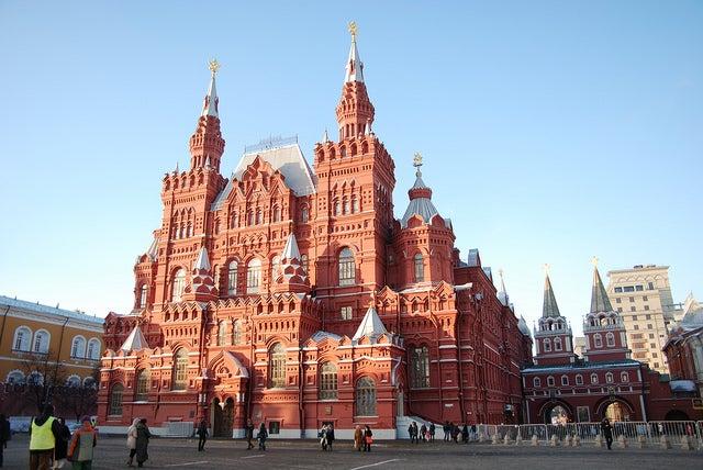 Vistamos el Museo Estatal de Historia de Rusia