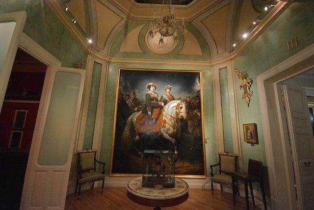 Interior delmuseo del Romanticismo de MAdrid