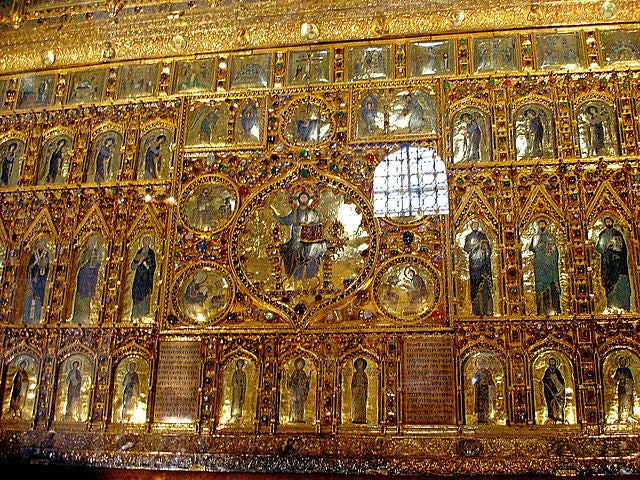 Pala d'Oro en la catedral de San Marcos