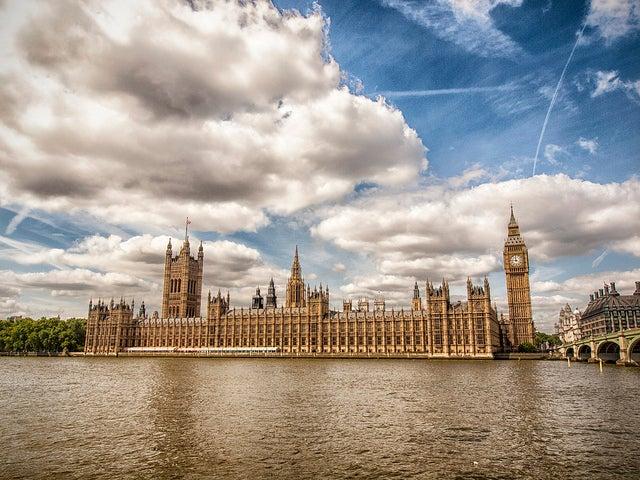 Palacio de Westminster sede del Parlamento de Londres