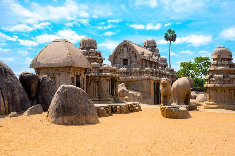 Pancha Rathas en Mahalipuram