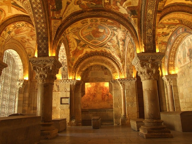 Panteón Real en la Colegiata de San Isidoro de León