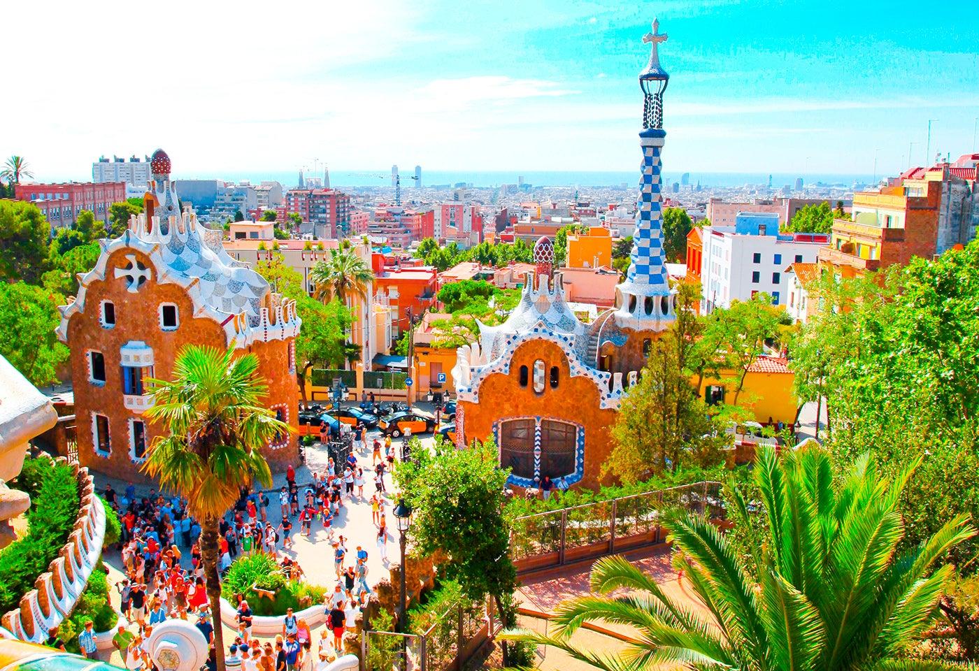 Parque Güell de Gaudí