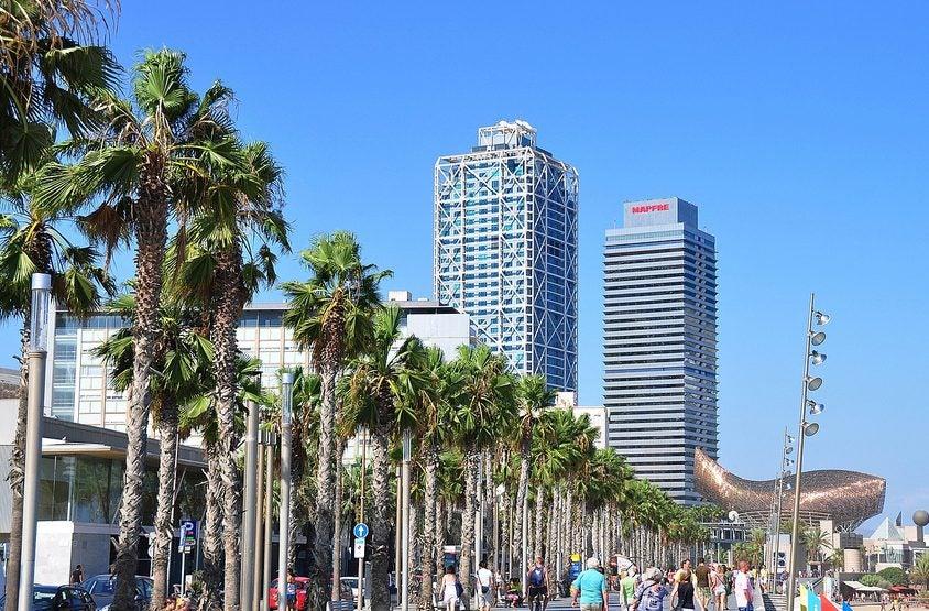 Paseos marítimos: Barcelona