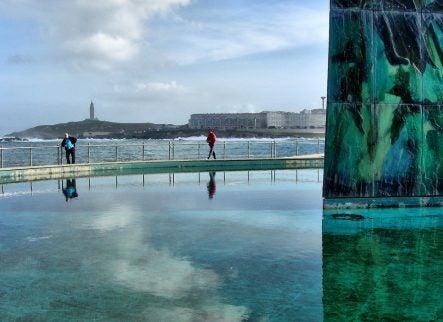 PAseo marítimo de A Coruña