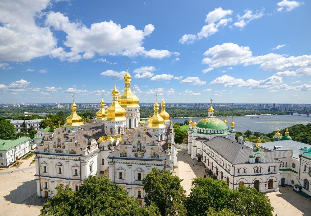 Monasterio de Pechersk Lavra en Kiev