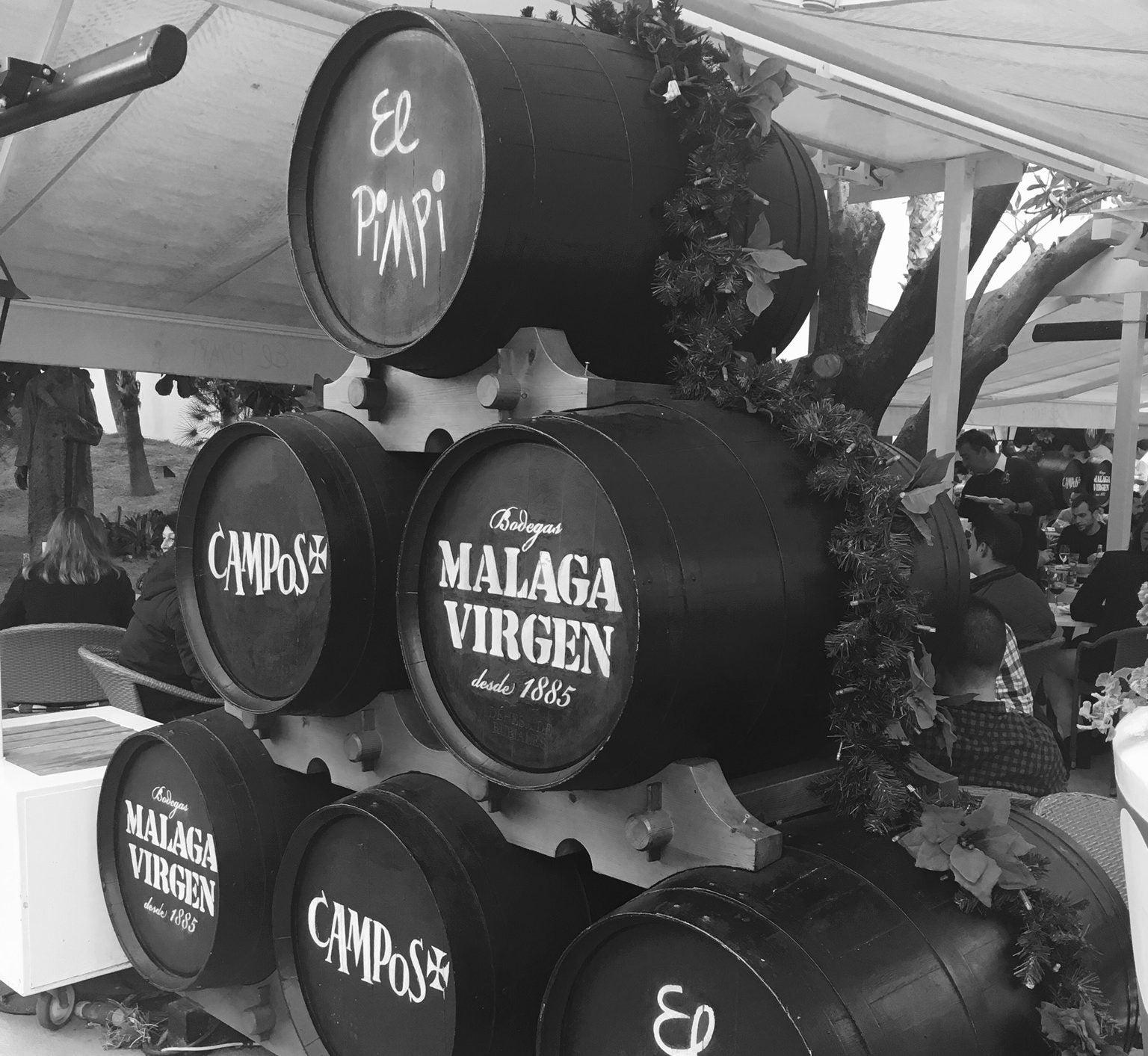 Rincones secretos de Málaga, El Pimpi