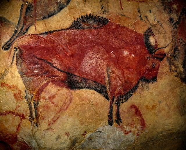 Pintura rupestre de la cueva de Altamira