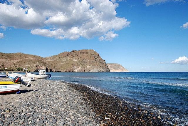 Playas de Cabo de Gata: Las Negras