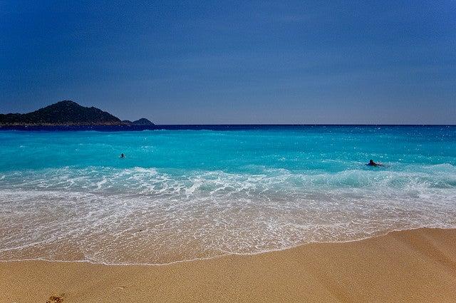 Playa Kaputas en Turquía