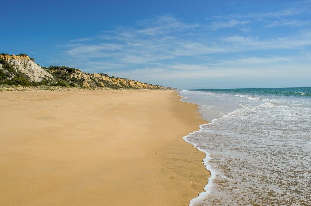 Playa del Parador en Huelva