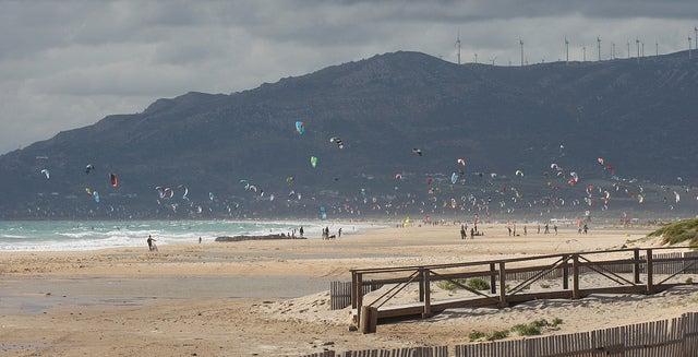 Playa de Punta Paloma en Cádiz