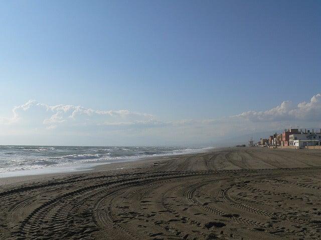 Playa de San Miguel en cabo de Gata
