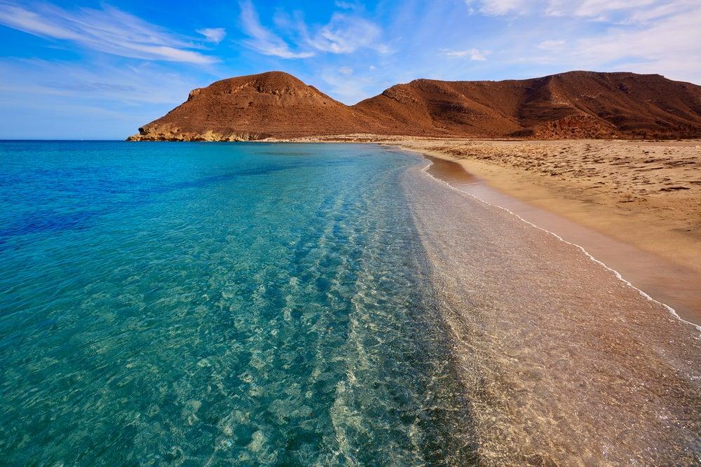 El Playazo en cabo de Gata, una de las mejores costas de España