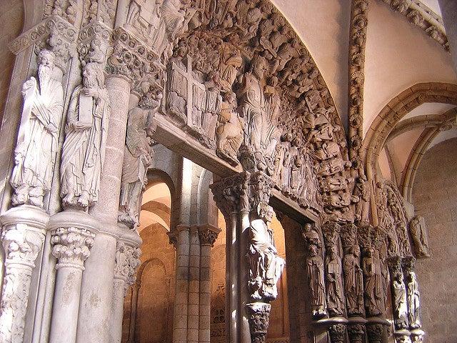 Pórtico de la Glora de la catedral de Santiago