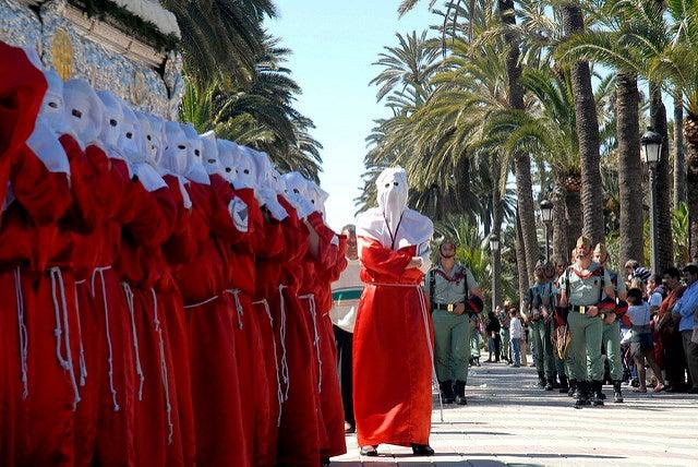 Procesión en Melilla