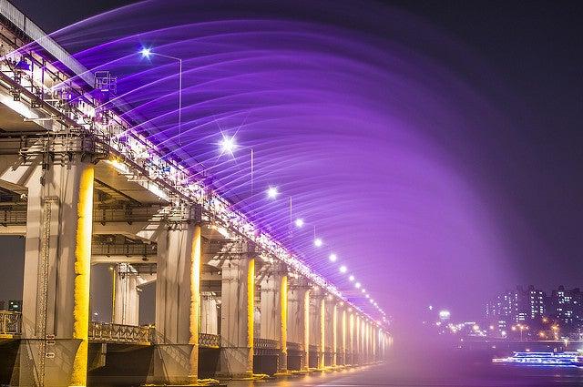Puente Bampo en Seúl