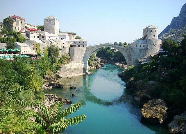 El puente de Mostar, un símbolo de unidad