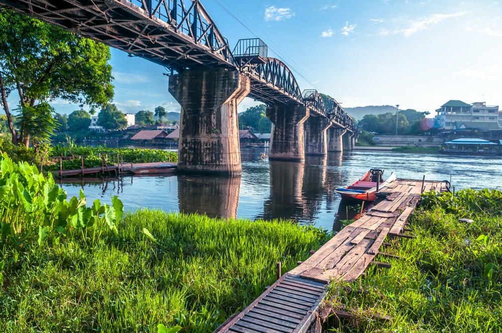 Lugares de película: Puente sobre el río Kwai