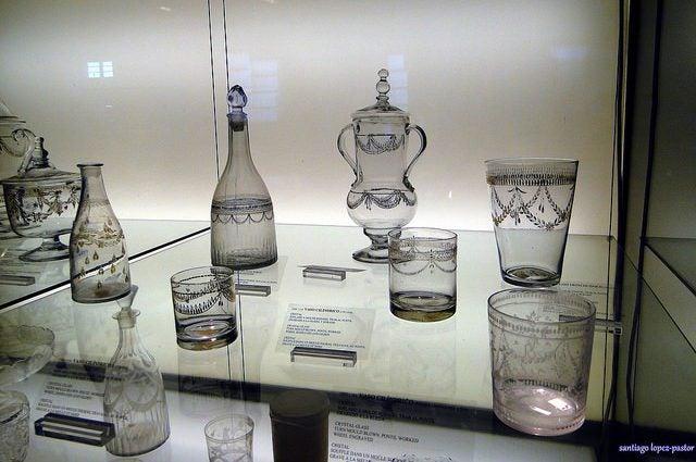 Museos de Castilla y León, Real Fábrica de Cristales