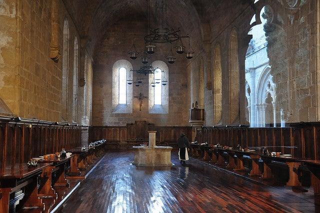 Refectorio del Monasterio de Poblet