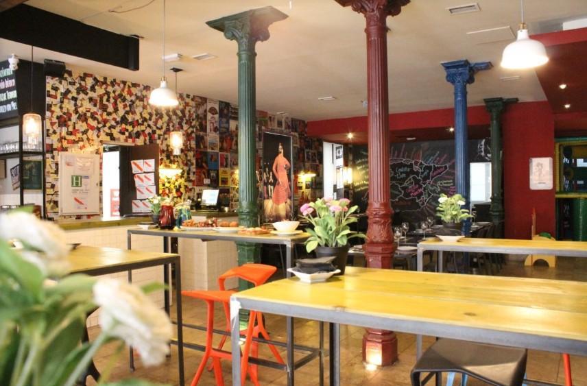 Restaurante la Excéntrica en Madrid