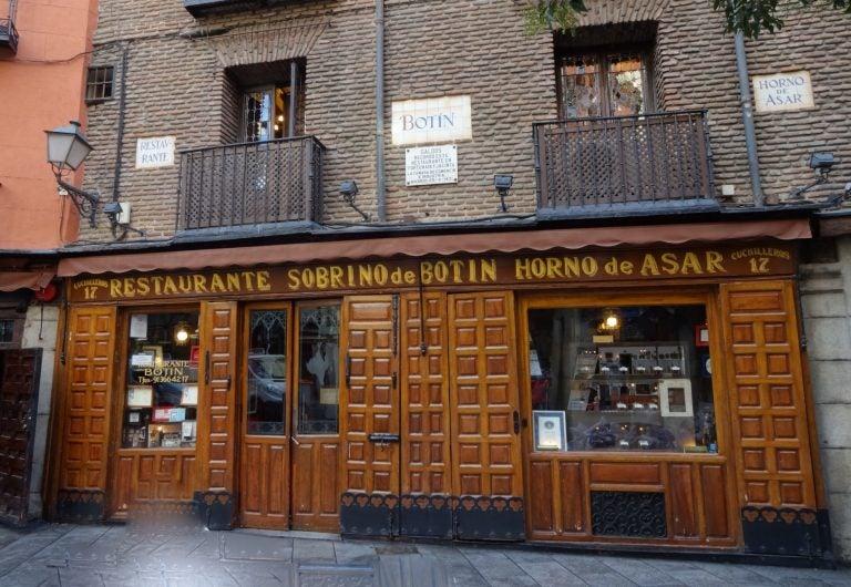 8 restaurantes de Madrid que no puedes perderte