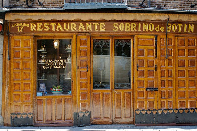Restaurante Sobrino de Botín