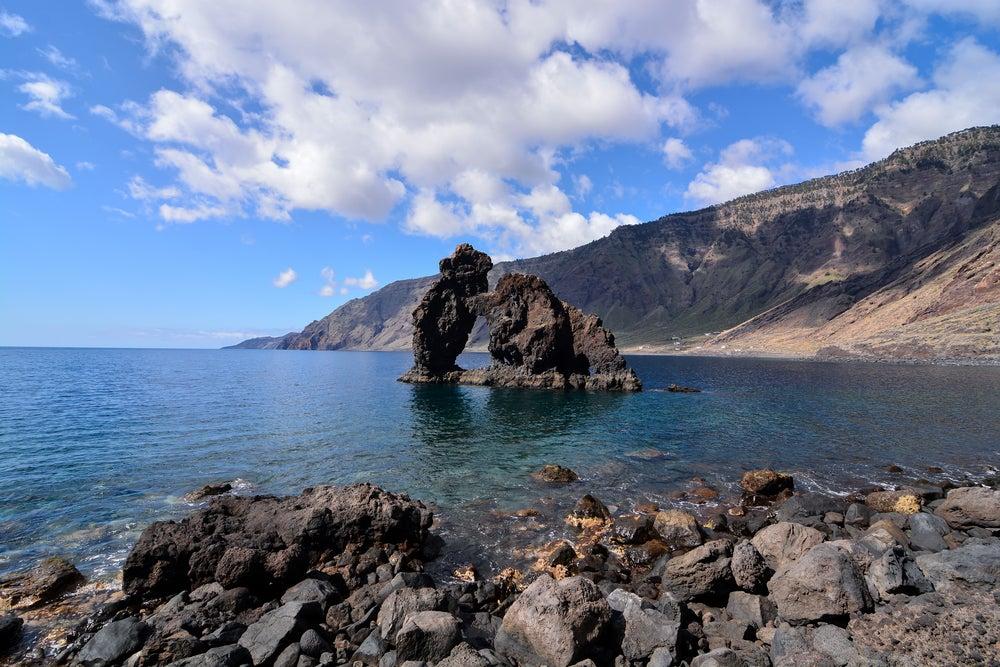 Roque de Bonanza en la isla de El Hierro